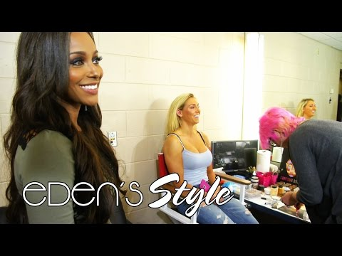 Take a RARE look inside WWE Makeup: Eden's Style