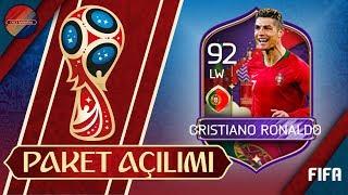 92 RONALDO ALDIK EFSANE PORTEKİZ 5 KADEME PAKET AÇILIMI FIFA MOBILE