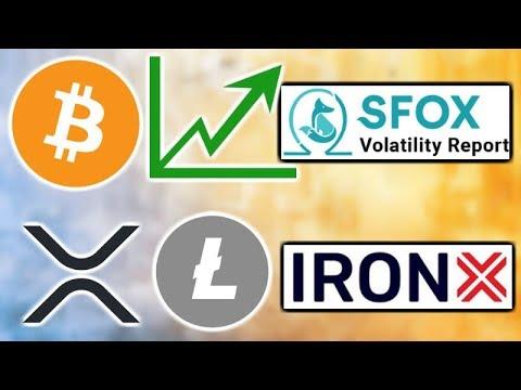 """sfox-crypto-market-""""mildly-bullish""""---sec-crypto-guidelines---ironx-exchange---xrp-&-litecoin-etps"""