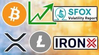 """SFOX Crypto Market """"Mildly Bullish"""" - SEC Crypto Guidelines - IronX Exchange - XRP & Litecoin ETPs"""