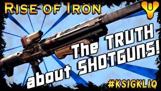 destiny rise of iron truth about shotguns shotgun range test