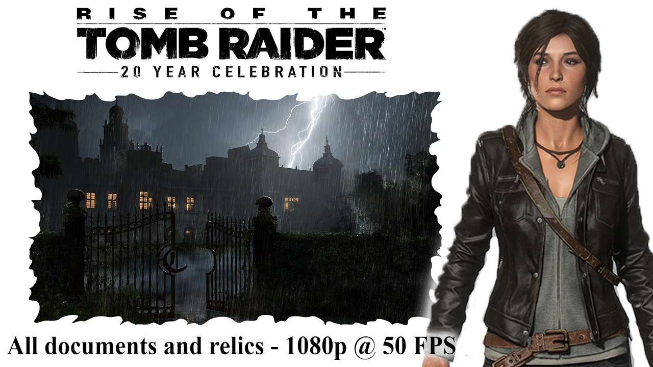 Rise Of The Tomb Raider Croft Manor Relics