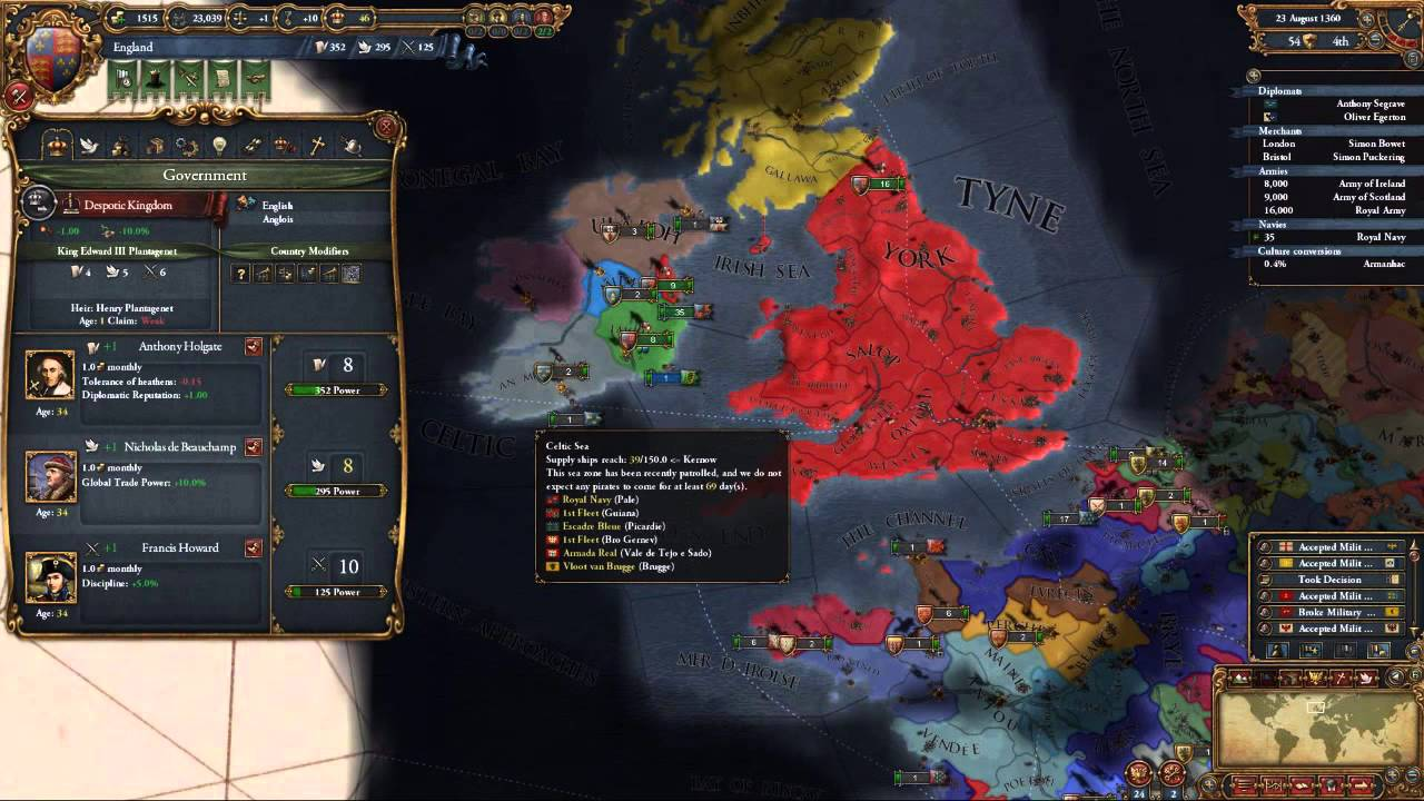 MEIOU and Taxes England #3