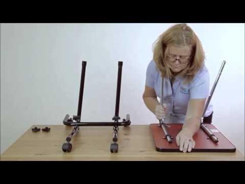 tavolino per il letto/sedia - con ruote - youtube - Tavolino Per Letto Con Rotelle