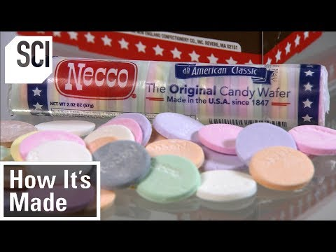 How to Make Candy Wafers | How It's Made