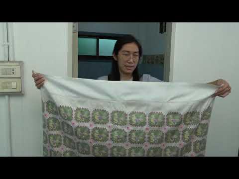วิธีการซักผ้าลุนตยา (ไหมไทย) โดย DaDa