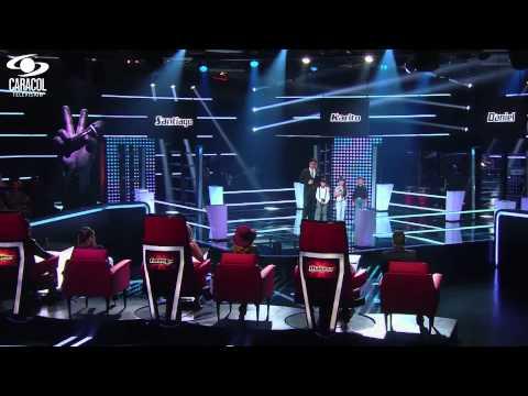 Santiago,Carolina,Daniel cantaron 'Se me olvidó otra vez' de Juan Gabriel –LVK Colombia–Batallas –T1