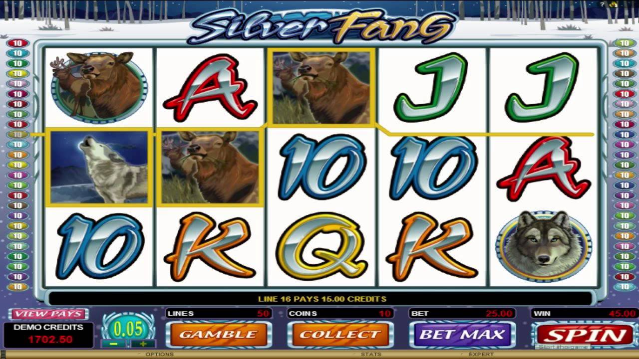 Relax With The Silver Fang Slots And No Download