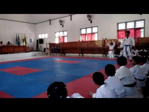 Karateka buat kagum para junior