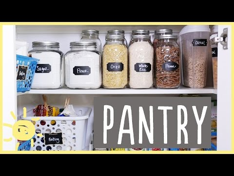 TIPS   Organizing a Pantry that Looks AMAZING