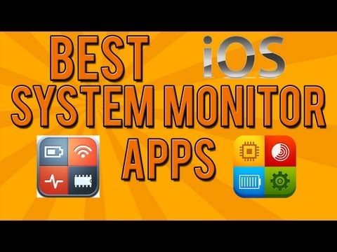 Best System Monitor Apps for iOS devices! (System Status & System Explorer)
