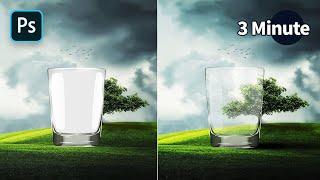 #05.[3분팁]투명유리잔 이미지 따는 방법[포토샵]