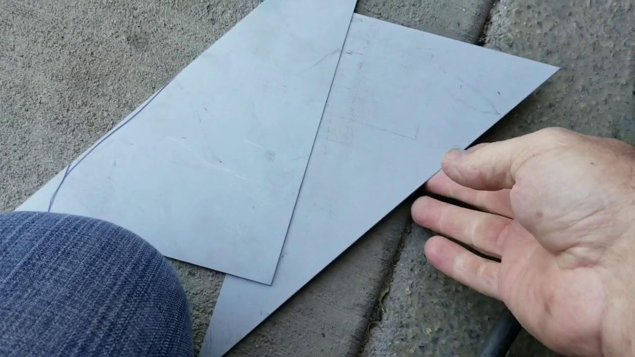 Welding Sheet Metal The Very Basics Youtube
