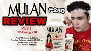 MULAN COLLAGEN REVIEW (Pearl Whitening + Collagen + L-Glutathione + NAC)