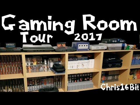 Game Room Set Up Tour Retro Gaming Man...
