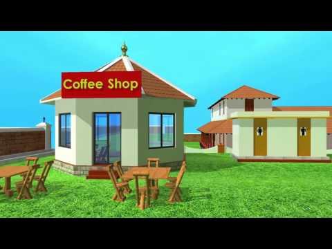 kavalapara kottaram 3d modelling animation video