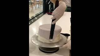 블루베리 케이크 데코