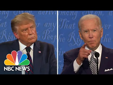 'You Don't Panic, He Panicked' Biden Hits Trump On Covid Response | NBC News