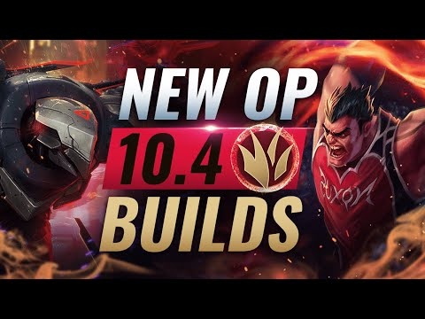7 NEW OP Builds For NEW Jungle Champs in Patch 10.4 - League of Legends Season 10 - 동영상