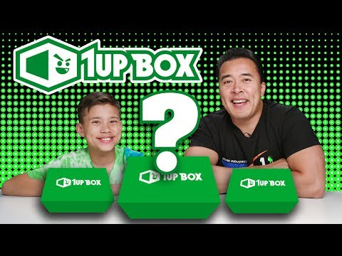 1UP BOX MONTHLY SURPRISE BOXES!!!