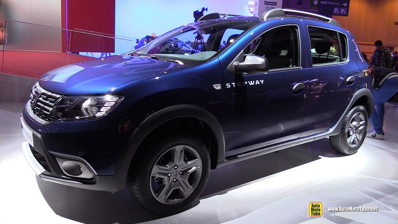 2017 dacia sandero stepway exterior and interior walkaround debut at 2016 paris motor show. Black Bedroom Furniture Sets. Home Design Ideas