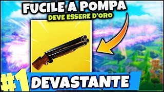 A PUMP... Legendary!! FORTNITE ITA SCARY END GAME FOR ROYAL VICTORY