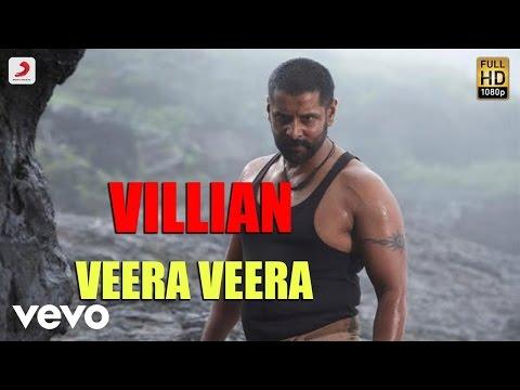Villain - Veera Veera Telugu Lyric | A.R. Rahman | Vikram, Aishwarya Rai