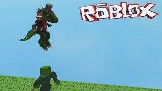 Jogando um jogo de amigo em ROBLOX!