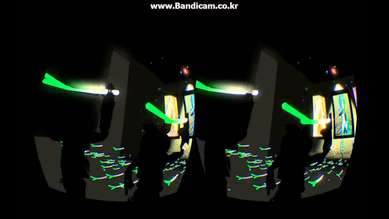 Oculus rift MMD demo_World is mine