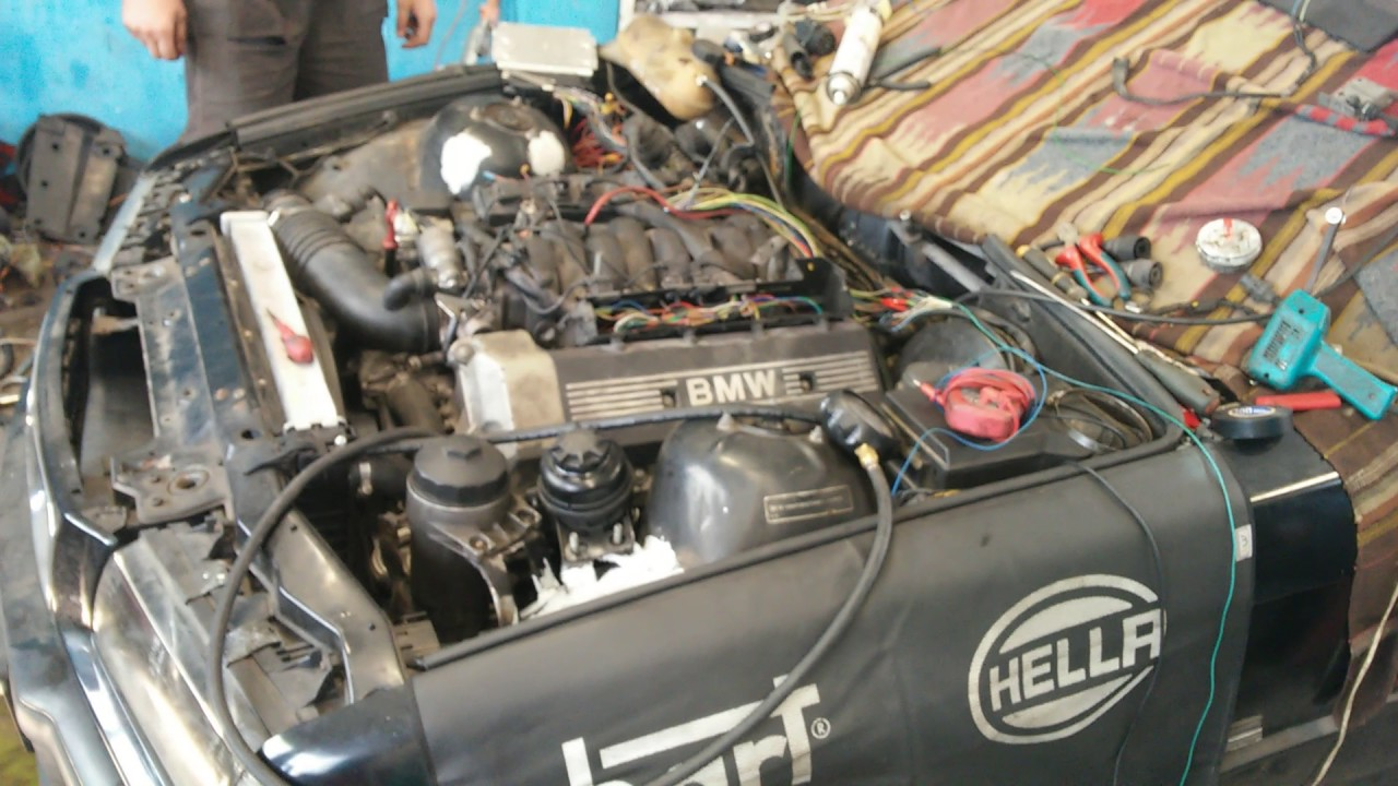 Bmw E36 V8 3 0 M60 218km Youtube