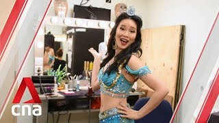 Backstage at Aladdin The Musical in Singapore | CNA Lifestyle