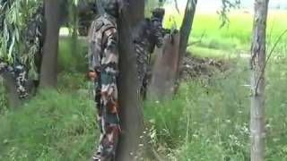 Live encounter by Indian Army - Pakistani Terrorists Killed