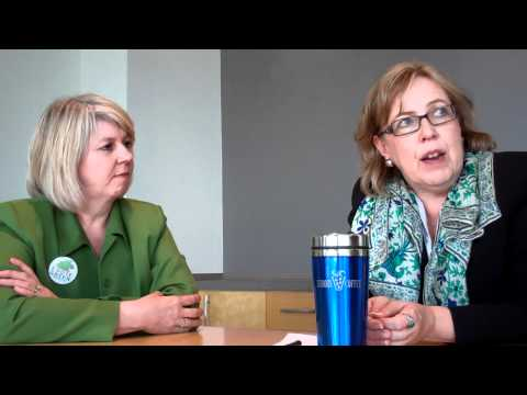 Elizabeth May and Adriane Carr on electing a Green...