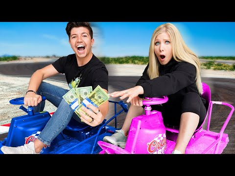 Ultimate Boy vs Girl DRIVING Challenge for $10,000!