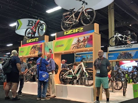 2018 IZIP Electric Bike Updates At Interbike (Moda, Dash, Peak & Peak DS, Zuma, Path, Beeline)