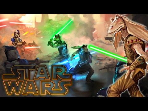 All gungan jedi star wars explained youtube for Star wars kuchenutensilien