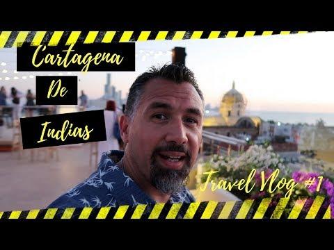 Cartagena de Indias - Colombia - Travel Vlog