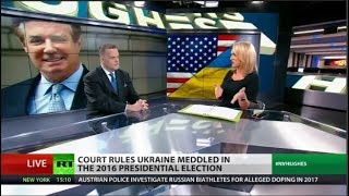 Ukraine admits officials meddled in US election