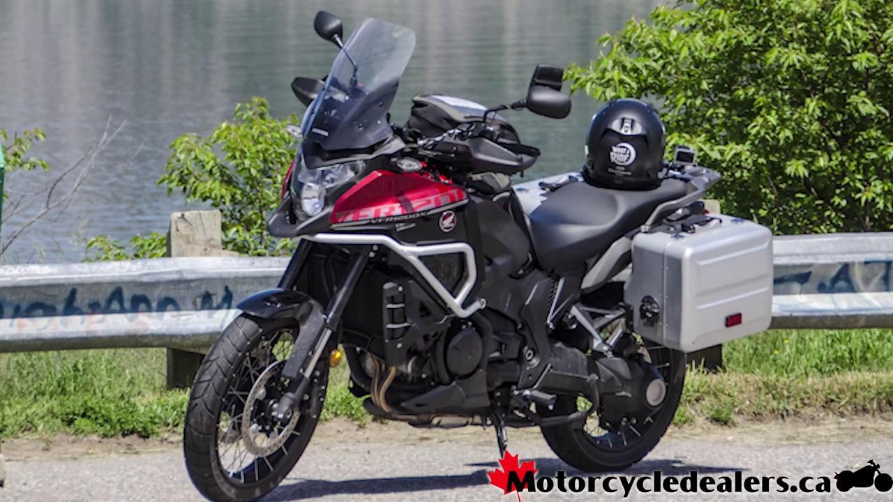2017 Honda VFR1200X Motorcycle Review - YouTube
