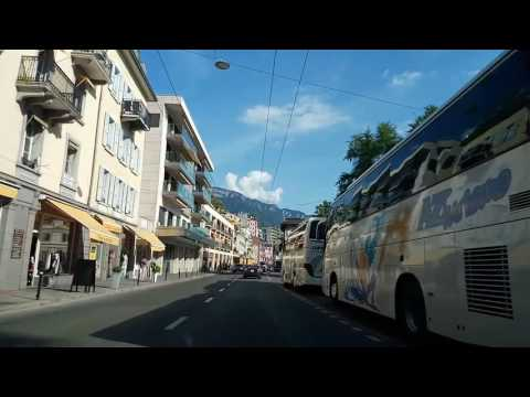 DT201705xx 18h11 Montreux, Switzerland from West to East (Dashcam) (mod)
