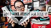 innovative design 33fd2 e2b93 Atmos X Nike Air Max 1 2017