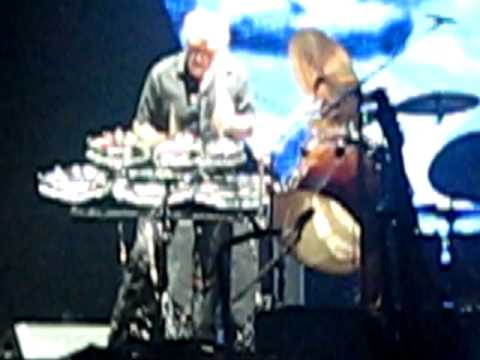 Roger Waters, Graham Broad, Time drum solo, 2007 Dark Side of The Moon tour