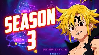 🔥¡La NUEVA REVERSE STAGE SEASON 3!🔥 Seven Deadly Sins: Grand Cross