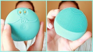 Foreo Luna Fofo Review, Unboxing, Demo & How To Use | FabFitFun Skincare Beauty Box Summer 2018