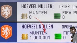 VAN 0 NAAR 1.000.000 COINS IN 1 WEEK