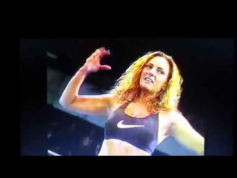 ECW Beulah Mcgillicutty vs Bill Alfonzo HARDCORE MATCH!!! 1997