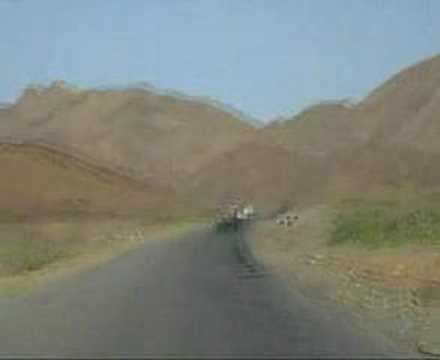 Sudan - Driving through the mountains and desert