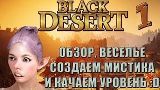 ОБЗОР BLACK DESERT - СОЗДАЁМ МИСТИКА И КАЧАЕМ ЛВЛ!