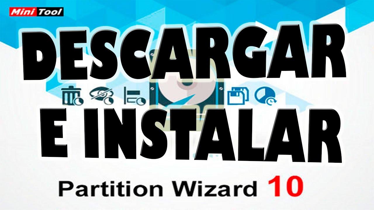 Descargar e Instalar Partition Wizard 10.2.