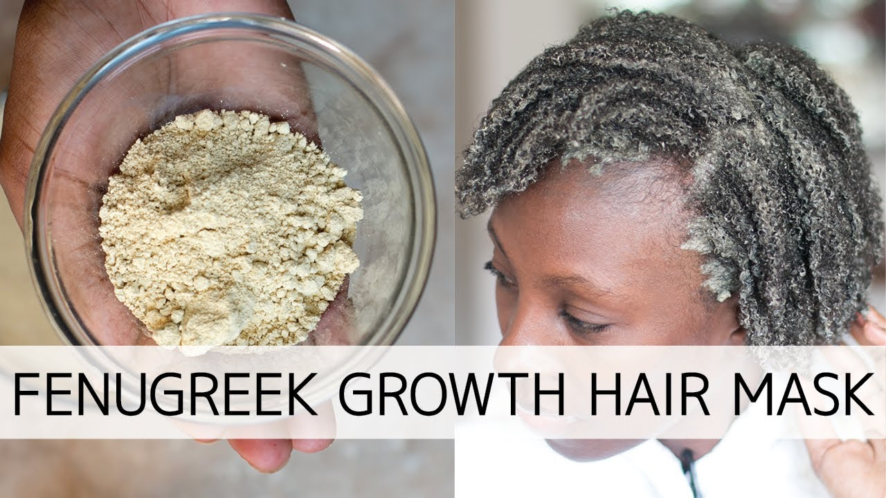 Fenugreek Powder For Natural Hair Youtube